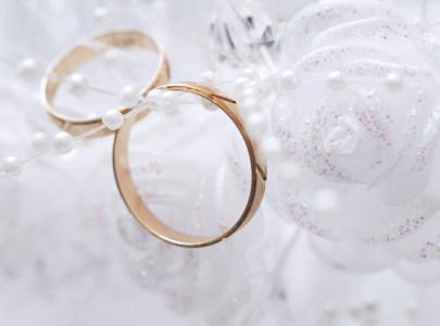 浪漫婚礼单品戒指花束背景高清背景图片素材下载