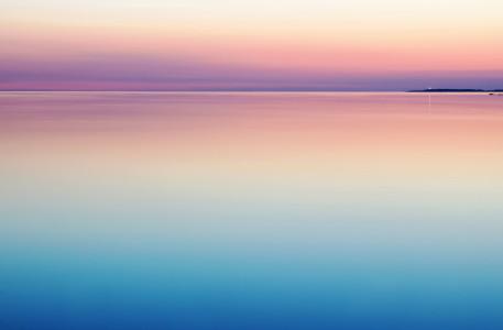唯美海面背景高清背景图片素材下载