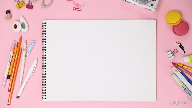 粉红色办公桌面背景背景高清大图-粉红色背景底纹/肌理