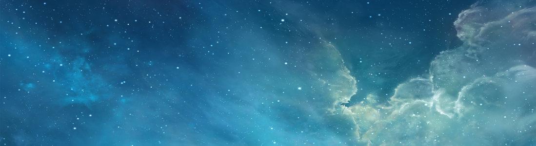星空banner创意设计
