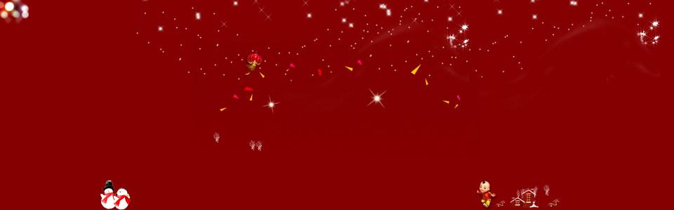 红色星点背景