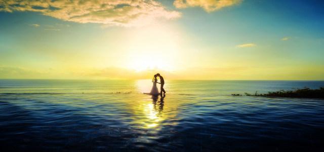 海边浪漫背景