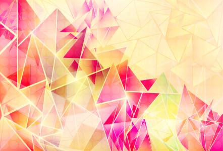 几何图形抽象矢量背景
