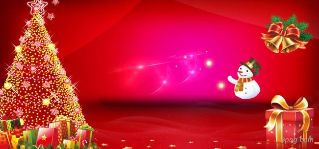 红色 圣诞节背景背景高清大图-圣诞节背景底纹/肌理