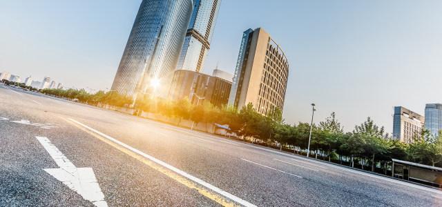 城市道路高清背景图片素材下载
