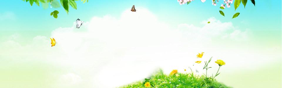 清新唯美海报背景高清背景图片素材下载