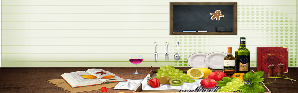 清爽厨房家居淘宝海报背景高清背景图片素材下载