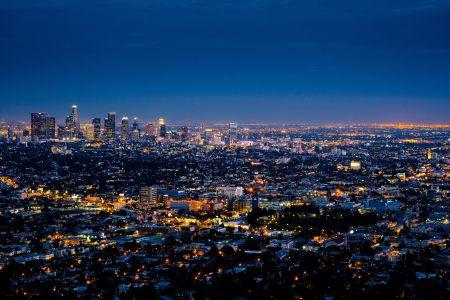 城市夜景高清背景图片素材下载