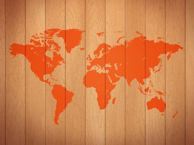 木纹世界地图背景高清背景图片素材下载