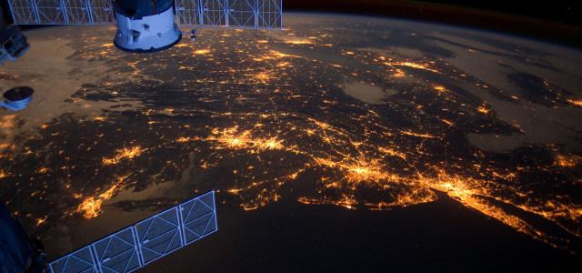 科技外太空背景