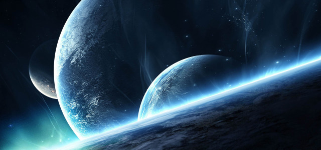 大气星空星球