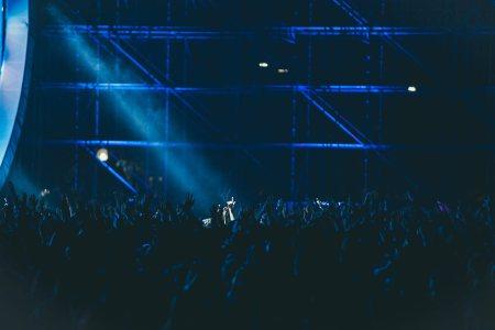 演唱会人群高清背景图片素材下载