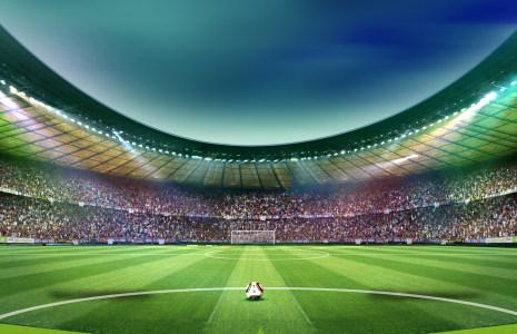 足球场地背景