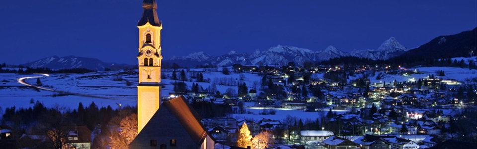 冬季夜晚背景