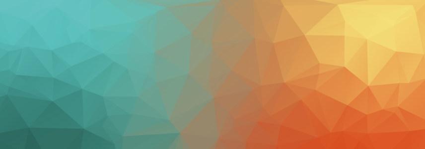 折纸对比立体几何背景banner