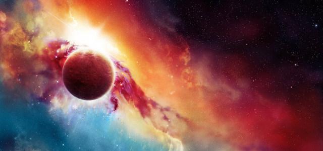 绚丽星球星空高清背景图片素材下载