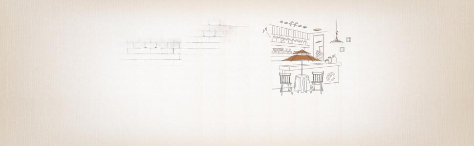 卡通手绘餐饮背景banner
