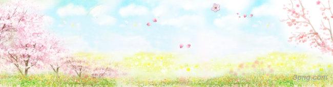 春暖桃花背景背景高清大图-桃花背景底纹/肌理