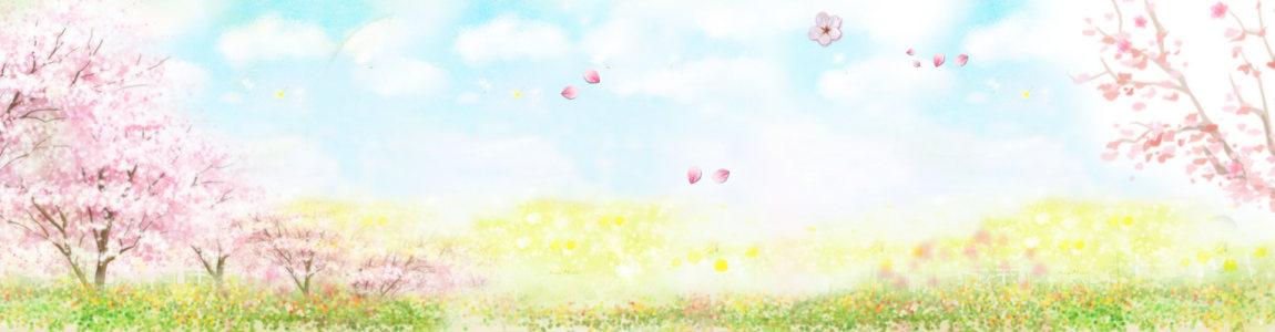 春暖桃花背景高清背景图片素材下载
