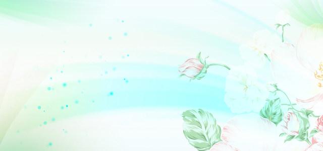 唯美花纹底纹背景