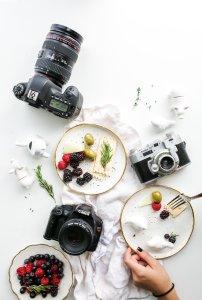 食物俯拍高清背景图片素材下载