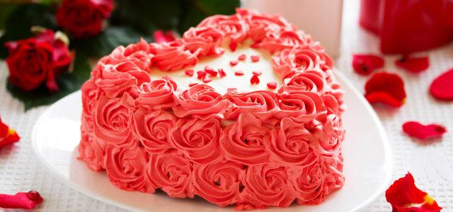 鲜花蛋糕摄影