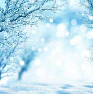 冬季雪景高清背景图片素材下载