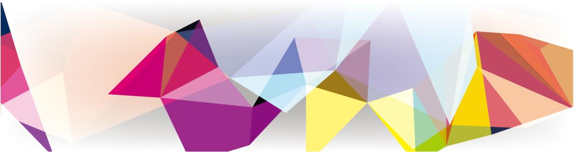缤纷几何形装饰背景高清背景图片素材下载