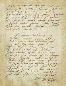 复古亲笔外国书信背景