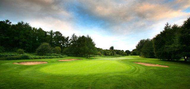 高尔夫球球场摄影