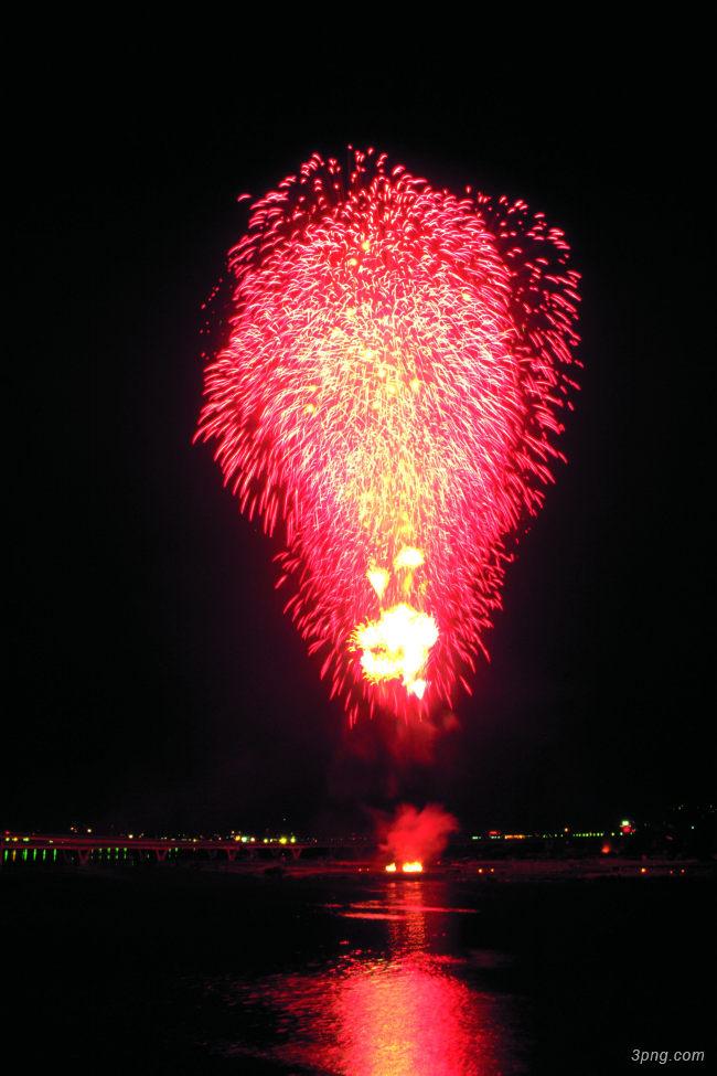 烟花火焰背景高清大图-火焰背景节日/喜庆