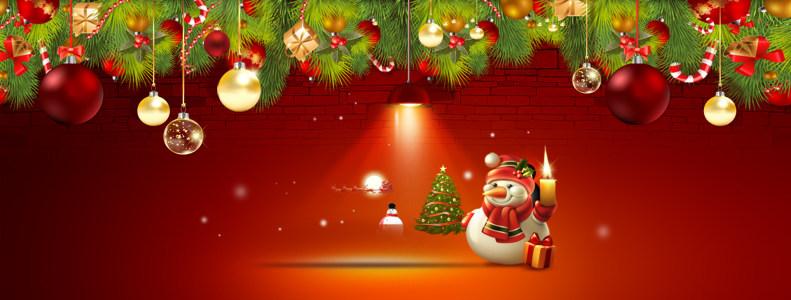 淘宝天猫圣诞背景高清背景图片素材下载