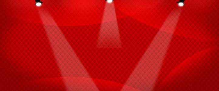 淘宝天猫双11红色背景