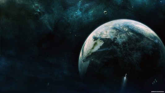 星球空间背景
