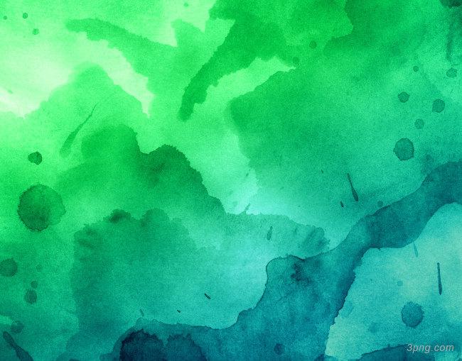 绿色水彩底纹背景背景高清大图-底纹背景底纹/肌理