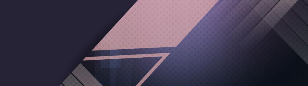 时尚几何形banner背景