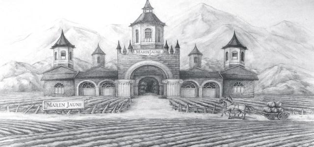 素描红酒庄园