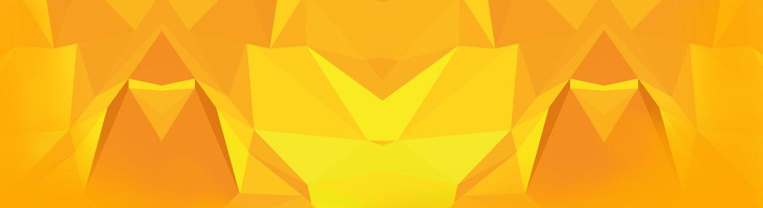 现代橙色潮流banner背景高清背景图片素材下载