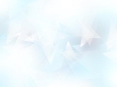 抽象浅蓝色三角形背景