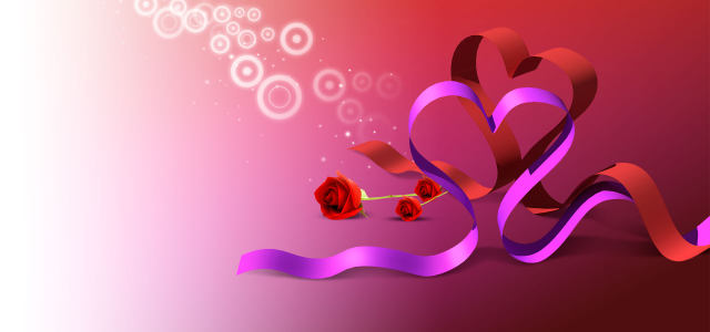 紫色丝带背景高清背景图片素材下载
