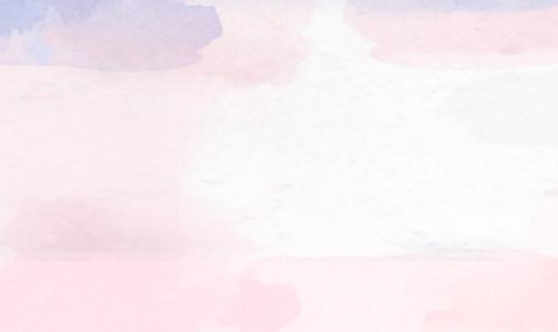 化妆品水彩背景