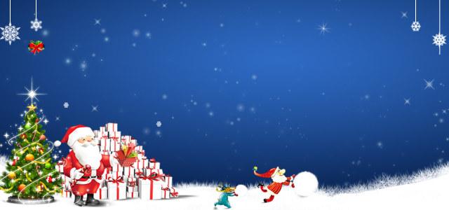 圣诞淘宝海报下载