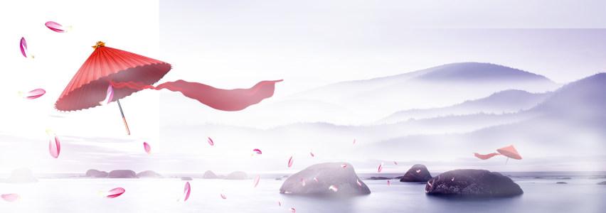 中国风古典背景banner