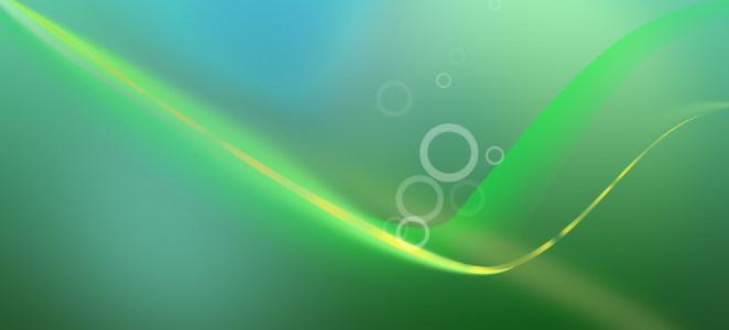 绿色时尚简约清新清爽漂亮唯美大图淘宝轮播图