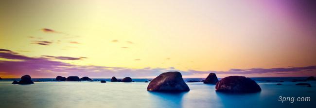 海滩背景设计下载桌面壁纸背景高清大图-桌面壁纸背景淡雅/清新/唯美