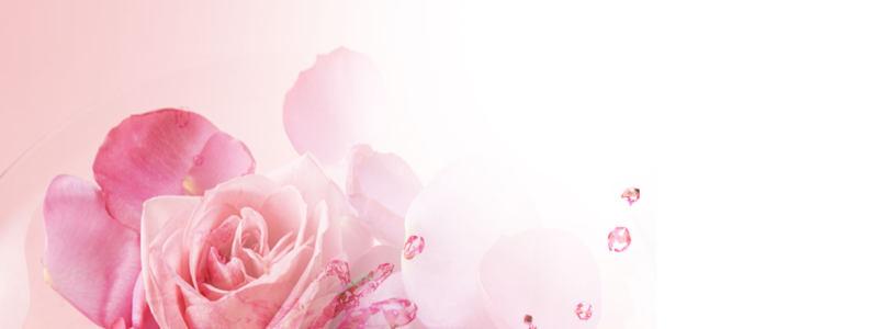 温馨花朵海报