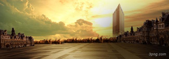 欧美背景背景高清大图-背景背景城市建筑