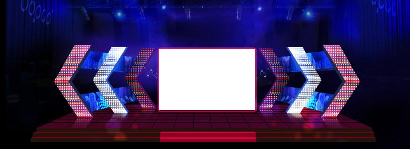 娱乐舞台大屏幕背景