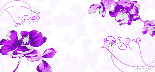 紫色花朵背景背景高清大图-花朵背景底纹/肌理