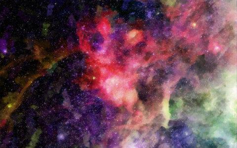 宇宙星云星空背景